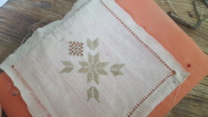 Lefkaritika - embroidered lace protected by the UN as Intangible Cultural Heritage