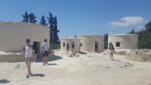 Visiting Choirokoitia neolithic World Heritage Site
